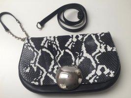 Emilio Pucci Python Tasche/clutch schwarz weiß, wie neu