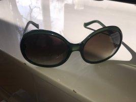 Emilio Pucci Sonnebrille sunglasses gold insert kaki made in Italy
