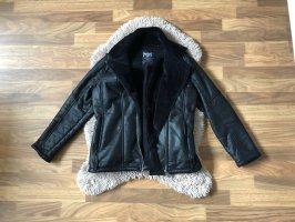 Black Premium by EMP Giacca in eco pelliccia nero