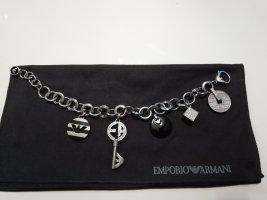 Emporio Armani Charm Bracelet black