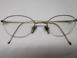 Emporio Armani Oval Sunglasses rose-gold-coloured
