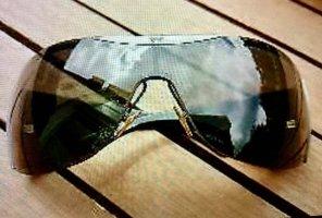 Emporio Armani Gafas de sol cuadradas negro-color plata