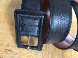 Emporio Armani Cintura di pelle nero