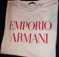 EMPORIO ARMANI ICON SHIRT WHITE RED