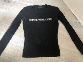Emporio Armani Camicia lunga nero-bianco