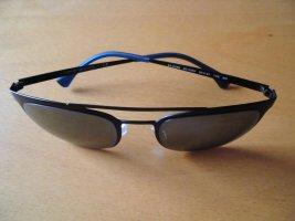 Emporio Armani Occhiale da pilota nero-blu scuro