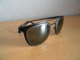 Emporio Armani Aviator Glasses black-blue