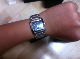 Armani Watch silver-colored-anthracite