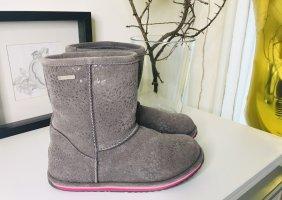 EMU Australia Boots grau Größe 36 Stiefel Waterproof Wasserdicht NP 129,-€