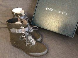 EMU Australia Boots mit Lanmfellgefüttert, Neu mit Etticket