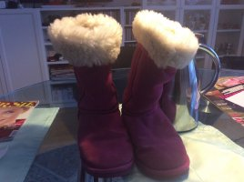 Emu Boots in pink in 39