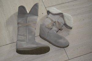 EMU Over knees, Boots mit Lammfell, gebraucht, Gr. 40