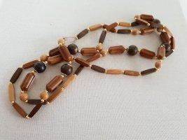 Boutique Ware Collier de perles marron clair-brun