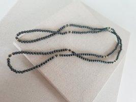 Boutique Ware Collana di perle antracite-grigio scuro
