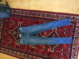 Mango Tube Jeans blue