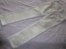 Vero Moda Breeches white-beige cotton