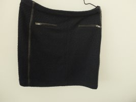 Custommade Midi Skirt black-dark blue