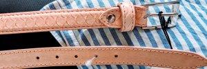 Cintura di pelle multicolore Pelle