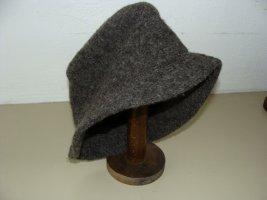 Sombrero de lana taupe