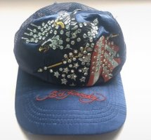 Ed Hardy Baseball Cap dark blue