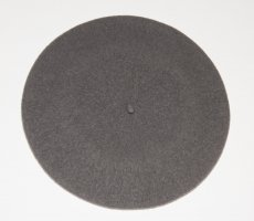 Escada Beret grey wool