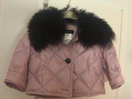 Escada Couture Daunen Fell Boilero rosé, Gr 36 Einzelstück