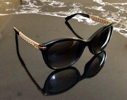 ESCADA Designer Sonnenbrille schwarz-goldfarben