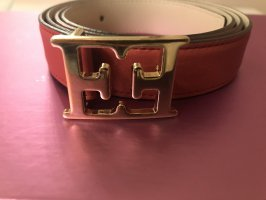 Escada Leather Belt raspberry-red-pink leather
