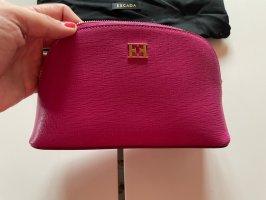 Escada Makeup Bag violet leather