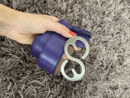 Escada Leather Belt lilac