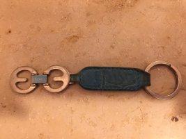 Escada Portachiavi azzurro Pelle