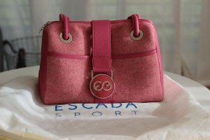 Elements Escada Bowlingtas roze Leer