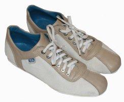 ESCADA SPORT Sneakers beige weiß Leder Gr. 36,5