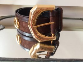 Escada Waist Belt multicolored leather