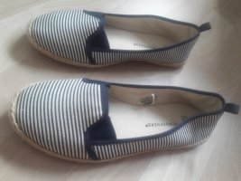 Atmosphere Espadrillas bianco-blu scuro