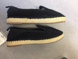 Oysho Instapsneakers zwart Katoen