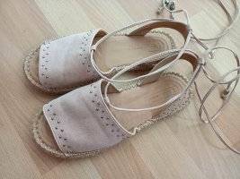 Asos Shoes Espadrille Sandals silver-colored-pink
