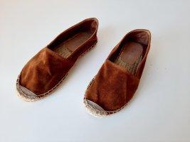 Graceland Pantofel brązowy-cognac
