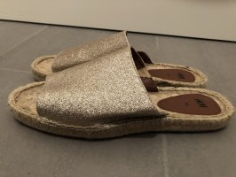 H&M Espadrille sandalen veelkleurig