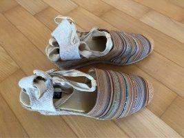 Jane Klain Platform High-Heeled Sandal multicolored
