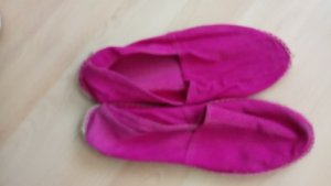 Espadrillas rosa Cotone