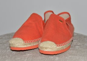 Michael Kors Sailing Shoes orange linen