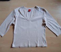 Esprit T-shirt beige clair-chameau coton