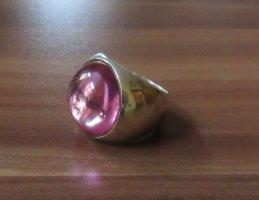 ESPRIT | Auffälliger Damenring | 925er Silber | violettfarbener Stein