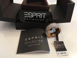 esprit collection Zilveren ring roségoud