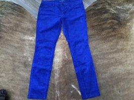 Esprit Pantalon en velours côtelé bleu coton