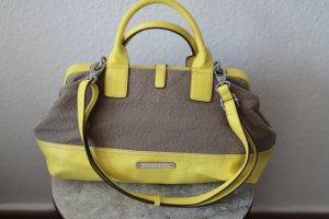 ESPRIT Damentasche in grau-gelb