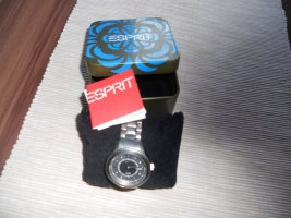 Esprit Self-Winding Watch silver-colored