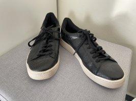 Esprit Gr. 41 Sneaker schwarz Anthrazit Halbschuhe