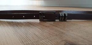 Esprit Faux Leather Belt dark brown